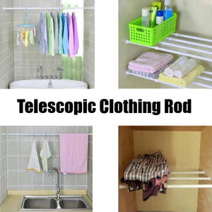 Telescopic Clothing Rod