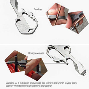 24-in-1 Key-shaped Pocket Tool