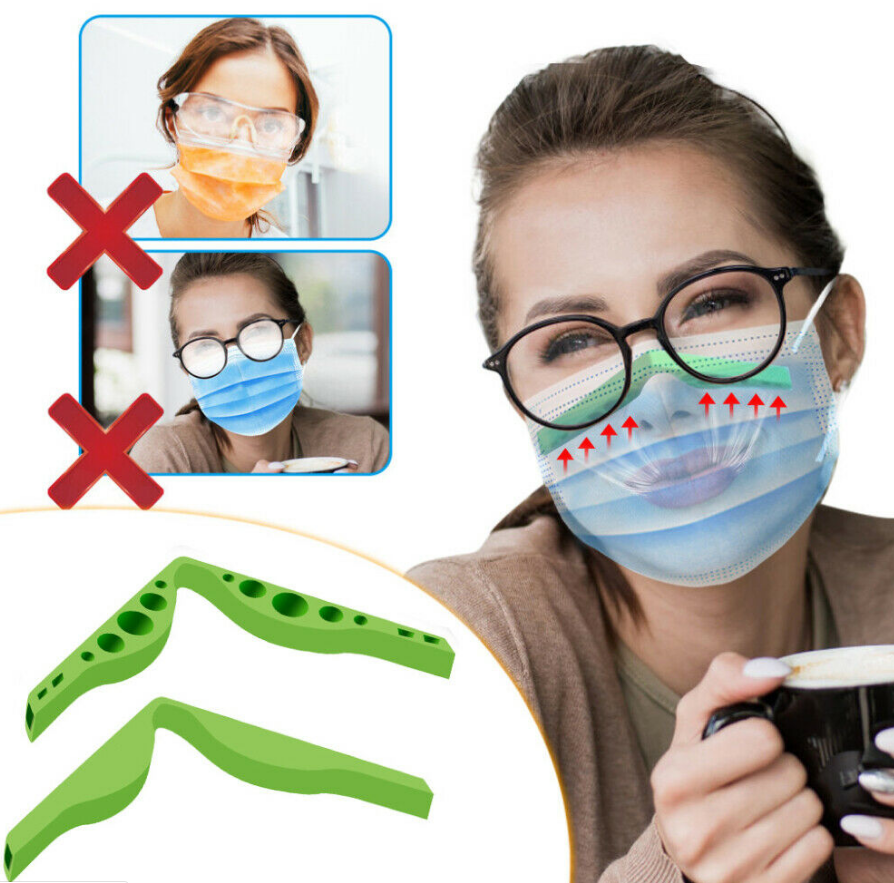 Anti-Fogging Nose Pad For Mask (2 PCS)