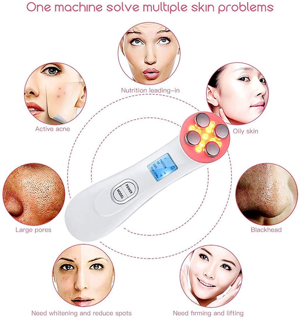 5 in 1 Skin Tightening Device
