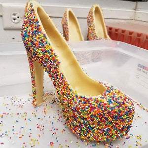Chocolate High Heels Shoe Mold Set