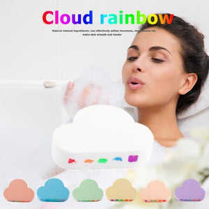 Natural Skin Care Rainbow Cloud Bombs