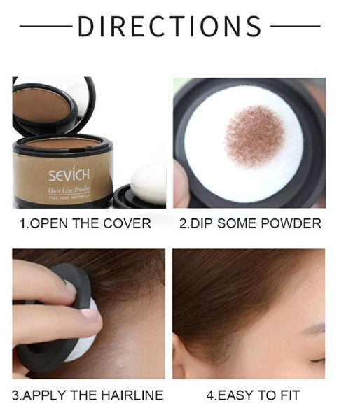Hair & Root Cover Touch-Up Powder