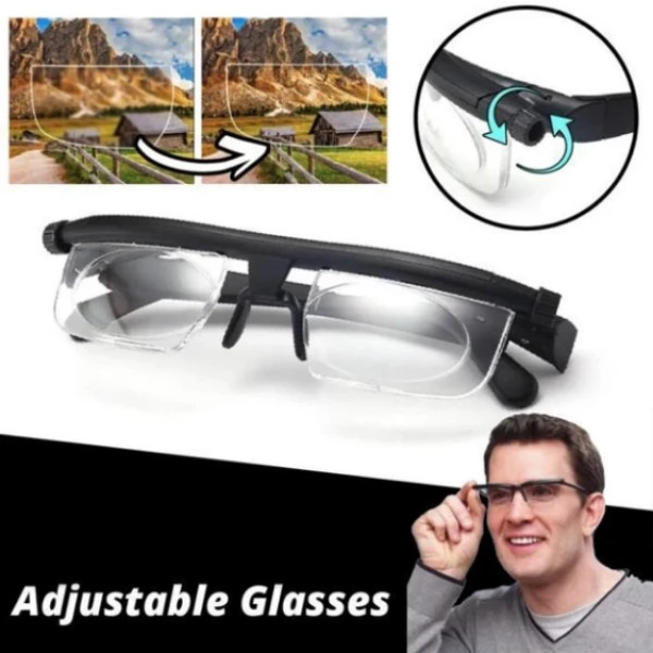 Adjustable 20/20 Glasses