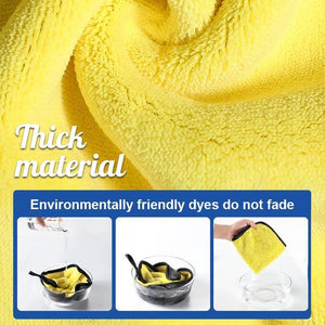 Double-sided Microfiber Absorbent Towel