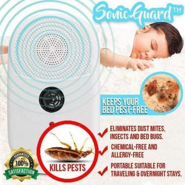 SonicGuard™ Dust Mite + Bed Bug Killer