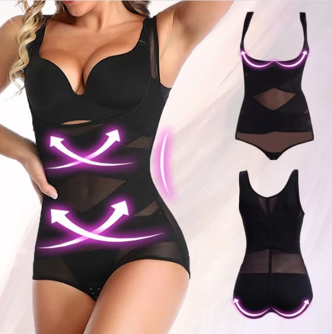 Lucy High Waist Tummy Control Butt Lift Slimming Body Shaper