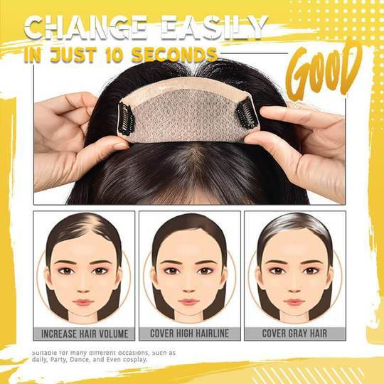 Natural Breathable Invisible Seamless Wig Hair Block