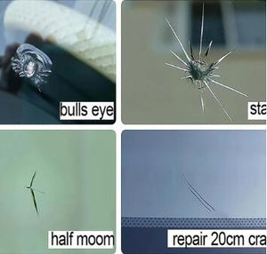 Glass Cracks Repair Resin