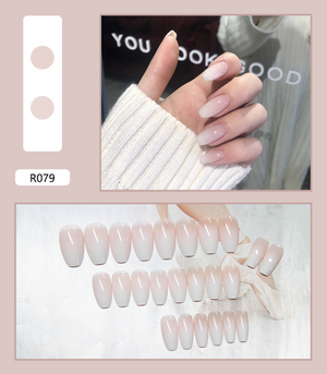Wearable Full Cover Fake Nail Tips