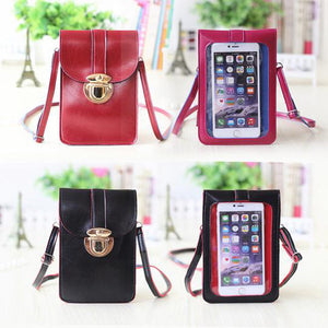 Luxury Leather Mobile Phone Bag