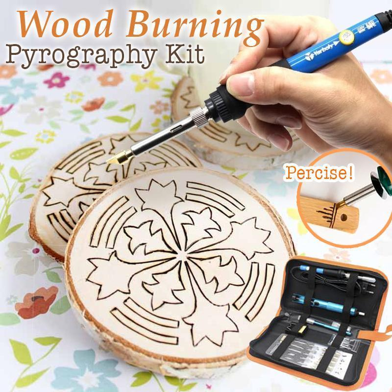 Pyrography Wood Burning Set