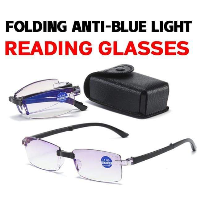 Foldable Automatic Focusing Anti-Blue Ray Reading Glasses
