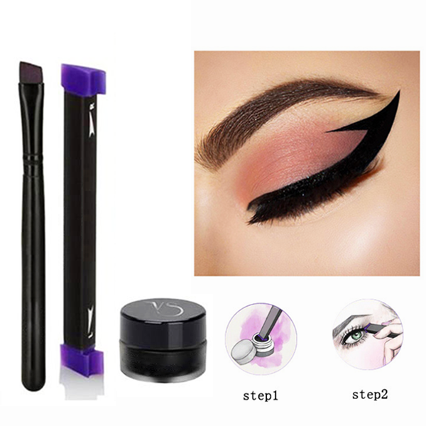Vamped Winged Eyeliner Stamp