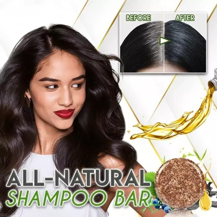 Organic Hair Darkening Shampoo Bar