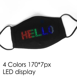 LED APP-CONTROLL FACE MASK (Suitable for everyone)