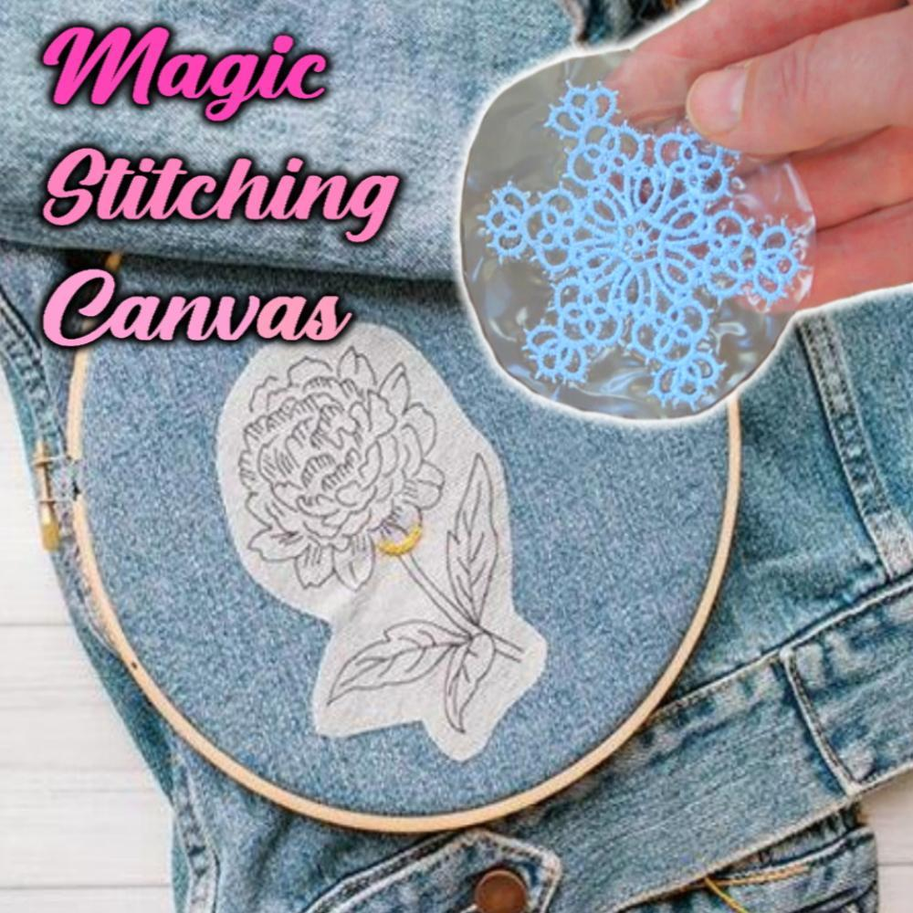 Magic Stitching Canvas (4 Pcs)