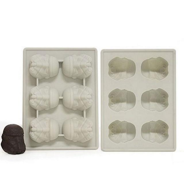 Star Wars Silicone Ice Trays / Chocolate Molds