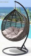 Egg Chair Grey MODERNA - Swing Chair
