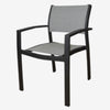 Alu/Mesh Dining Chair