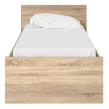 Load image into Gallery viewer, Naia Single Bed 3ft in White High Gloss - The Home Collections