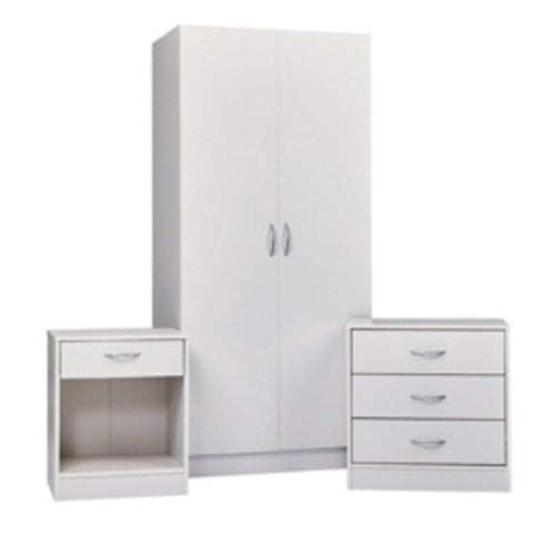 Delta Bedroom Set White - The Home Collections