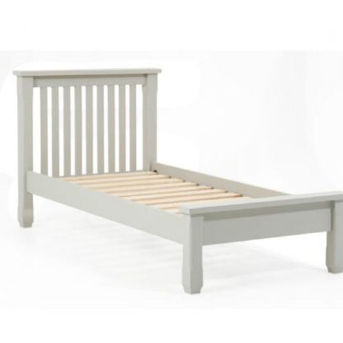 Sandringham Grey Single Bed Frame - The Home Collections