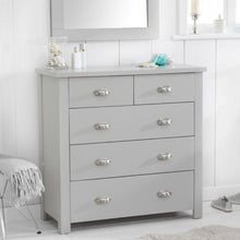 Load image into Gallery viewer, Sandringham Grey 4 + 3 Drawer Chest - The Home Collections