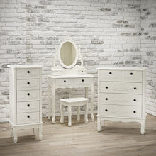 Load image into Gallery viewer, Antoinette Dressing Table White - The Home Collections