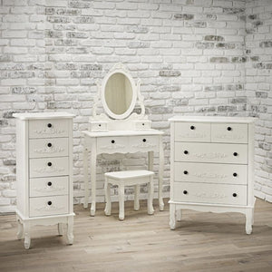 Antoinette Dressing Table White - The Home Collections