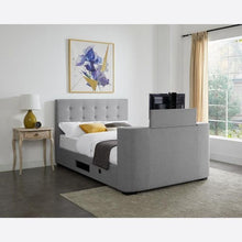 Load image into Gallery viewer, Mayfair TV King Size Bed - The Home Collections