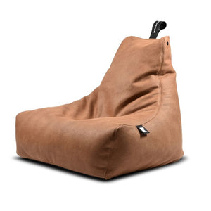 Mighty B Bean Bag Tan Luxury - The Home Collections