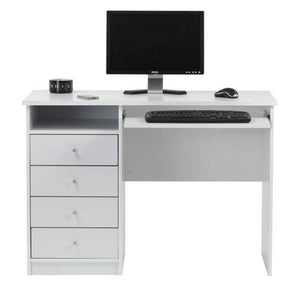 Marymount White Student Desk - The Home Collections