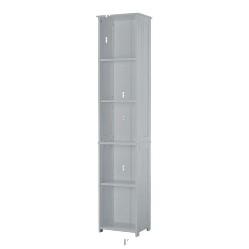 Alaska Tall Unit Grey - The Home Collections