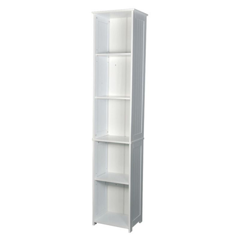 Alaska Tall Unit White - The Home Collections