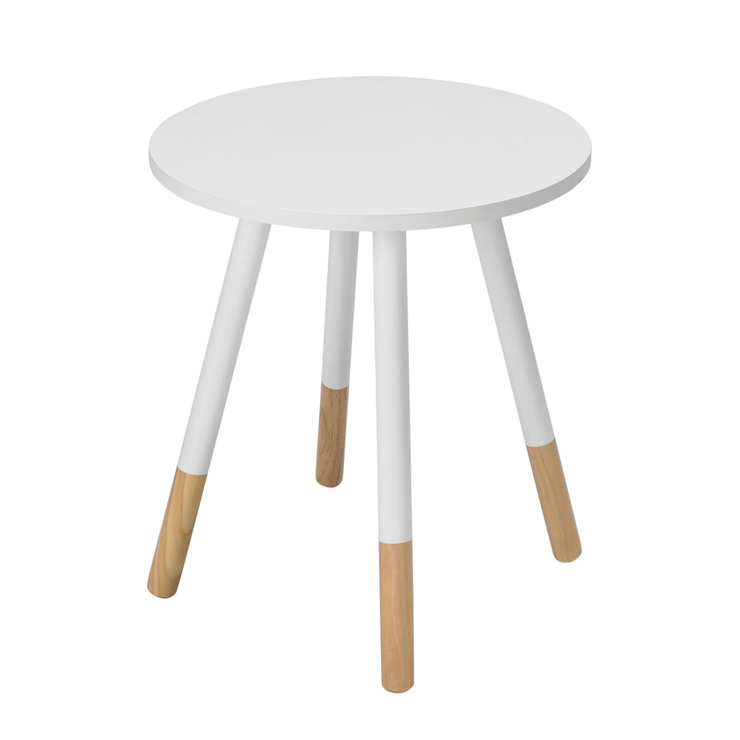 Costa Side Table White - The Home Collections