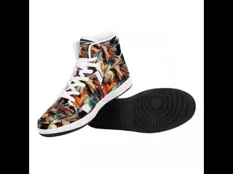 Olanquan High Top Leather Sneakers
