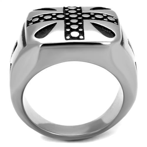 Men Stainless Steel Epoxy Rings TK2331 - Olanquan's Fashion Boutiques