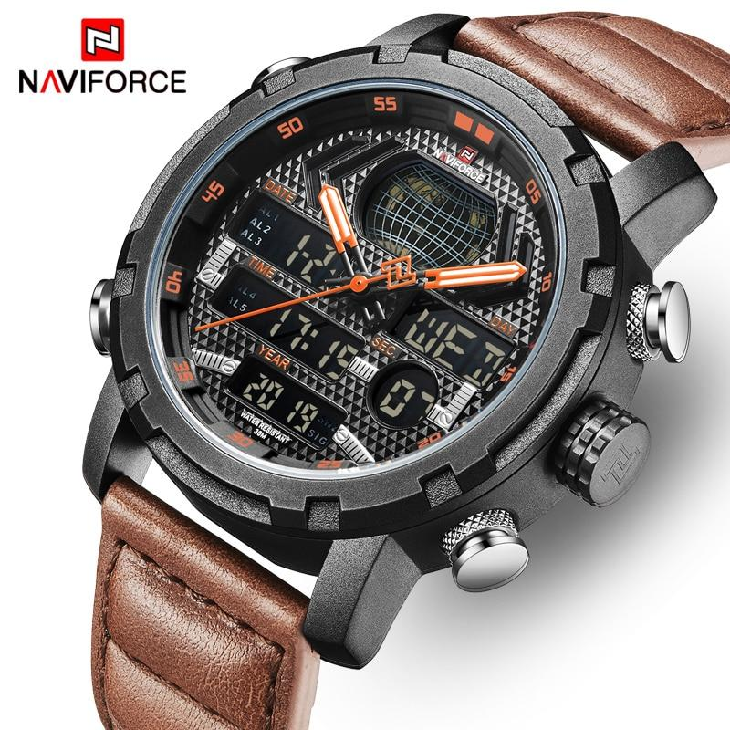 Mens Watches NAVIFORCE Luxury Brand Fashion Sport - Olanquan's Fashion Boutiques