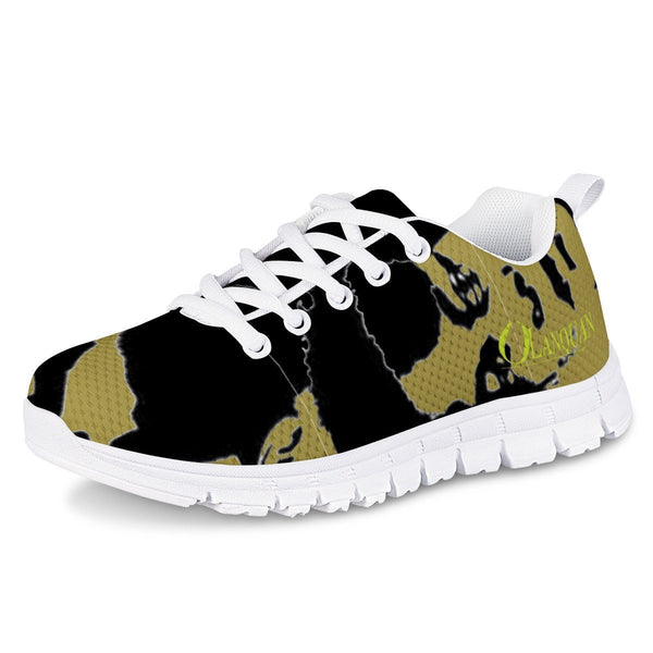 Olanquan Army Green Kids Running Shoes - Olanquan Fashion Boutique