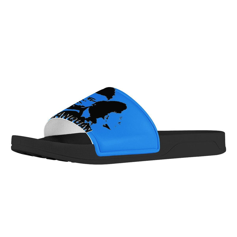 Olanquan Black Slide Sandals Shoes - Olanquan's Fashion Boutiques