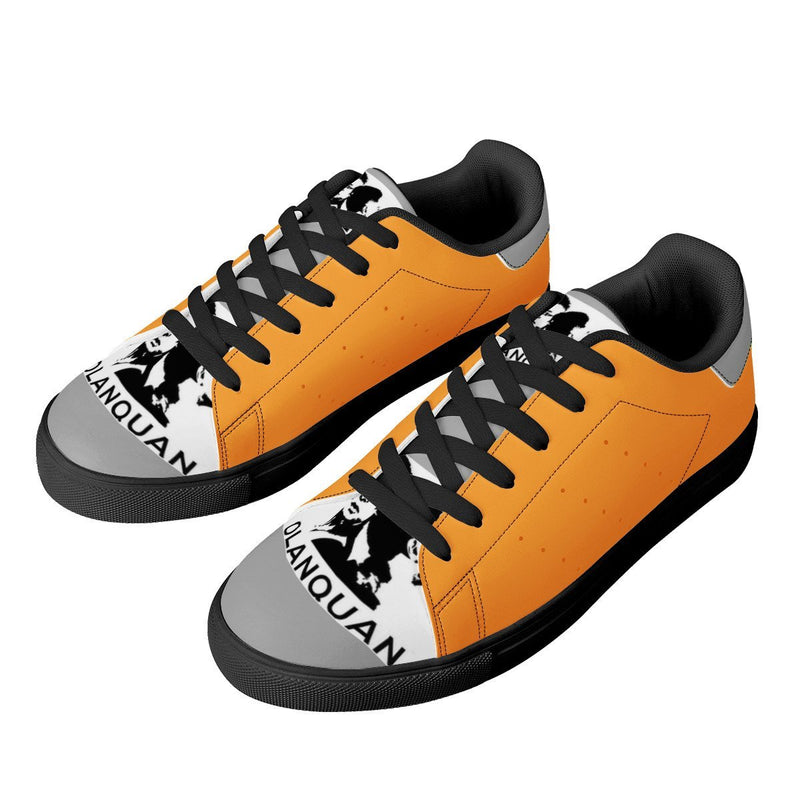 Olanquan Low Top Leather Sneakers - Olanquan's Fashion Boutiques