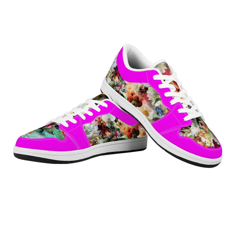 Olanquan Low Top Leather Sneakers - Olanquan Fashion Boutique