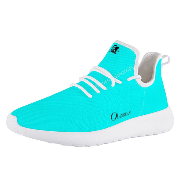 Olanquan Mesh Sneakers Turquoise Mesh Knit Sneakers - Olanquan's Fashion Boutiques