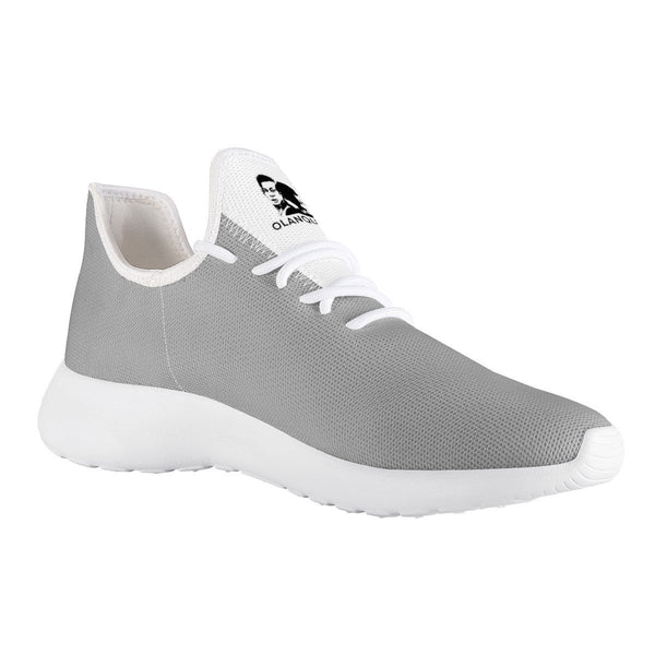 Olanquan Sneakers White Mesh Knit Sneakers - Olanquan's Fashion Boutiques