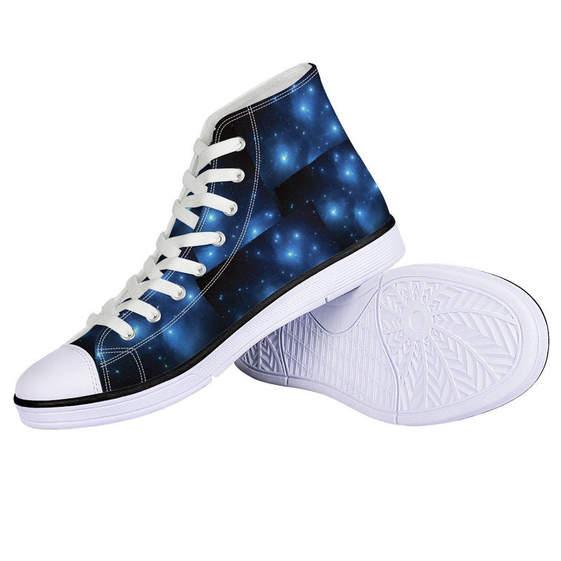 Olanquan White EVA High Top Canvas shoes - Olanquan Fashion Boutique