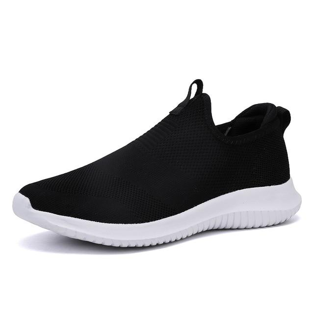 Spring Sneakers Men Casual Shoes Air Mesh Shoes For Men Loafers Black Fashion Sneakers Mens Trainers Sapato Masculino - Olanquan's Fashion Boutiques
