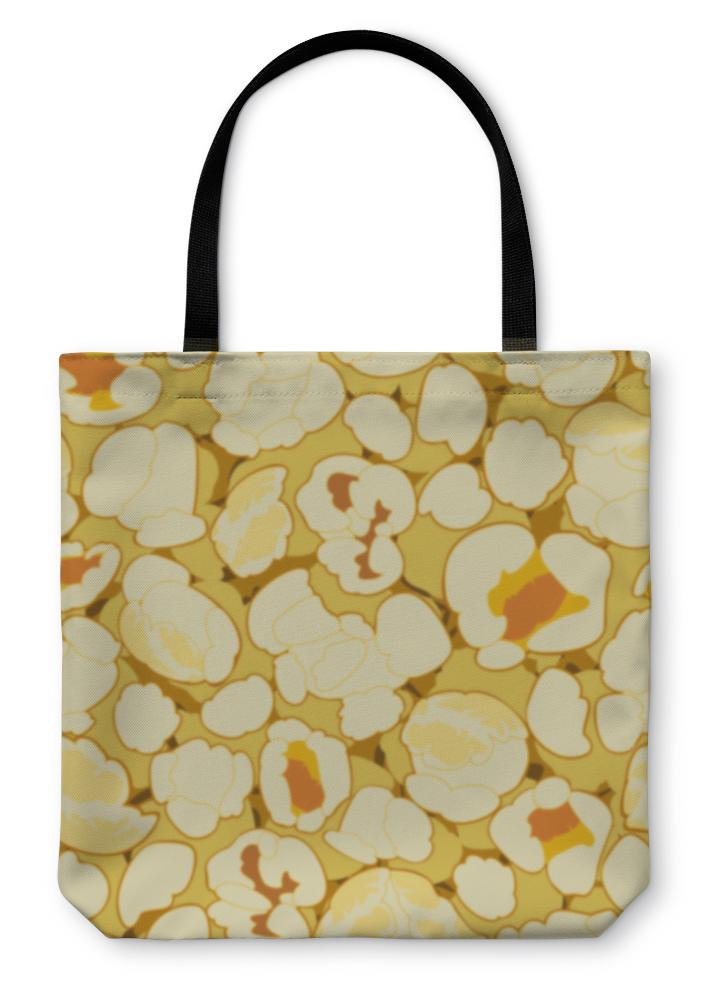 Tote Bag, Popcorn Pattern - Olanquan's Fashion Boutiques