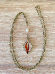 "30"" Framed Diamond ""Y"" Pendant Necklace - Sargassum"