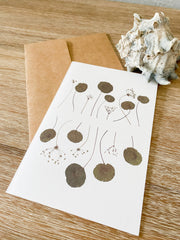 "Blank Greeting Card - ""Stalks"""